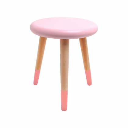 Alice stool light pink