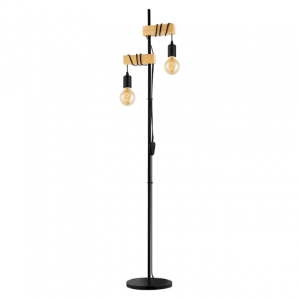 Meri copper floor lamp