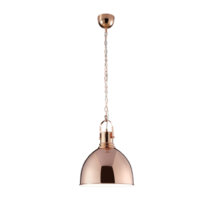 Jasper pendant Lamp copper