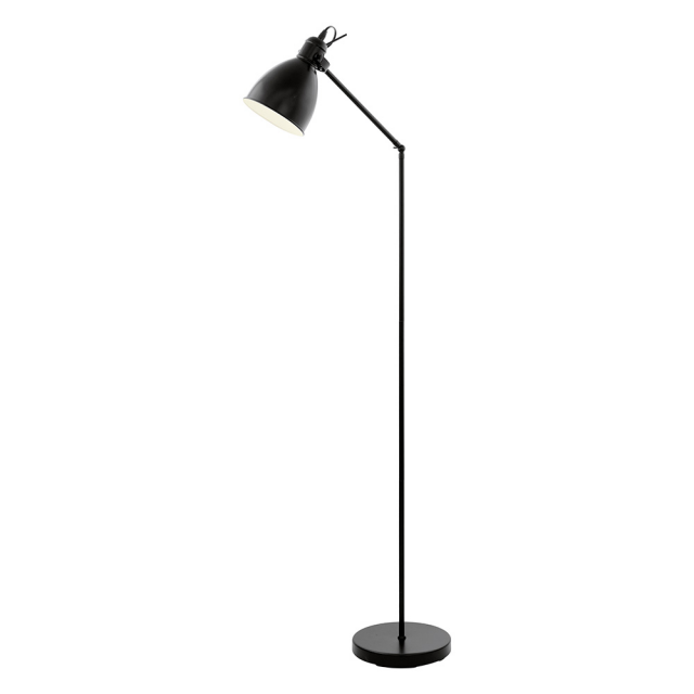 Priddy Floor Lamp - Black