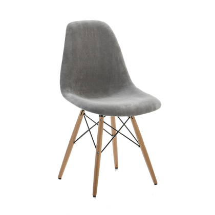 Upholstered Eames chair
