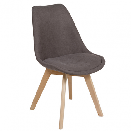 Velvet Chair gray