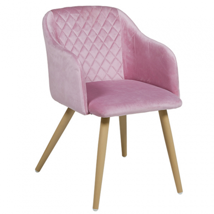 Cob Chair pink