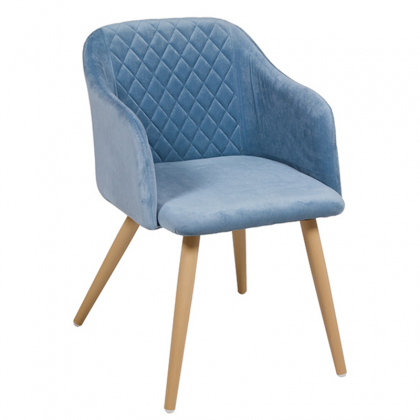 Cob Chair blue