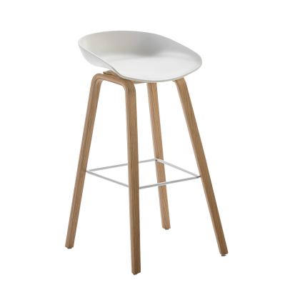 Jany bar chair white
