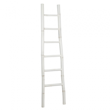 coat rack-ladder Bambu