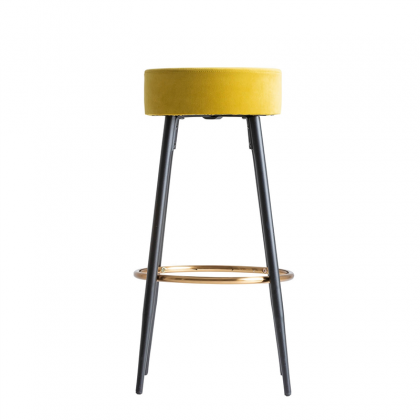 Carpi bar chair yellow
