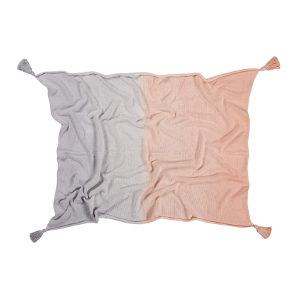 Couverture lavable Degradé rose lavande