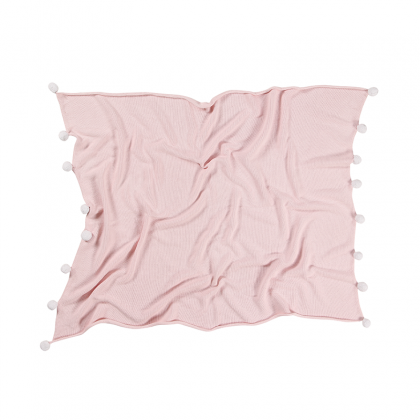 Couverture lavable Bubbly rose