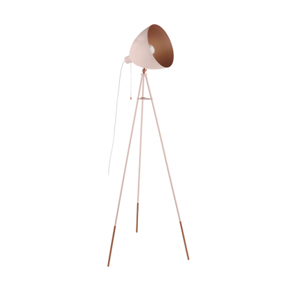 Chester pink Floor lamp