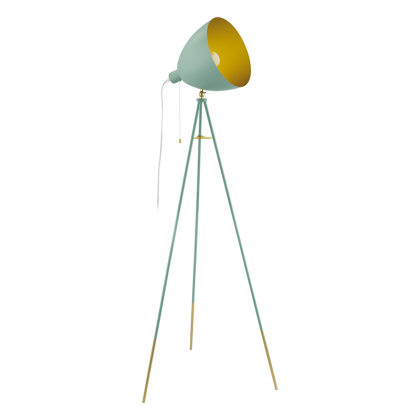 Chester mint Floor lamp