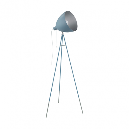 Chester light blue Floor lamp