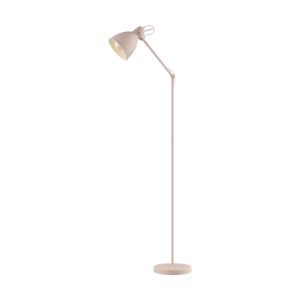 Priddy pink Floor lamp