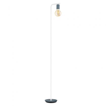 Adry blue Floor lamp