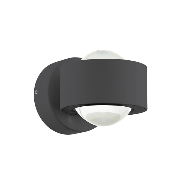 Ono black wall lamp