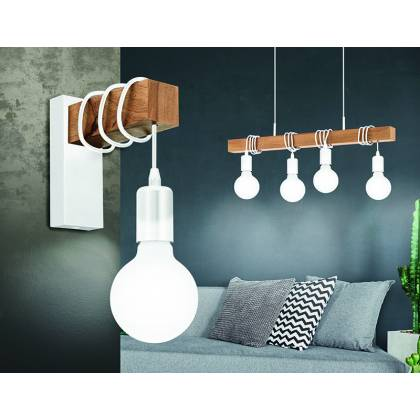 Dyna white Wall Lamp
