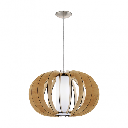Stellato wood pendant Lamp