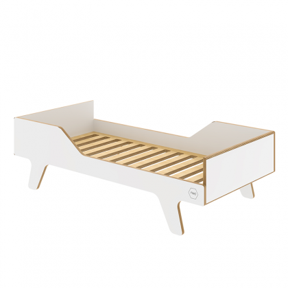 Cama de madera Dream Big blanco