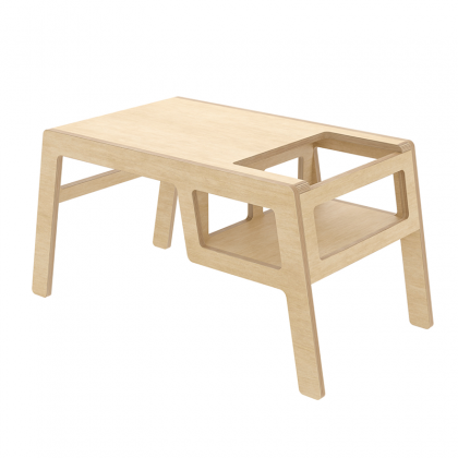 Kid's wooden table flex birch