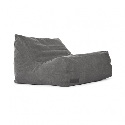 Club pouf gray
