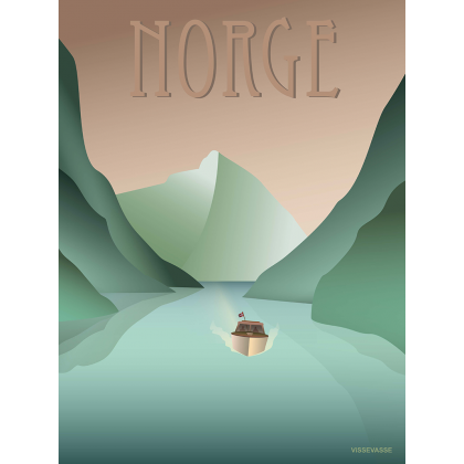 NORWAY Fjords print