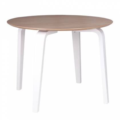 Nora Dining table white