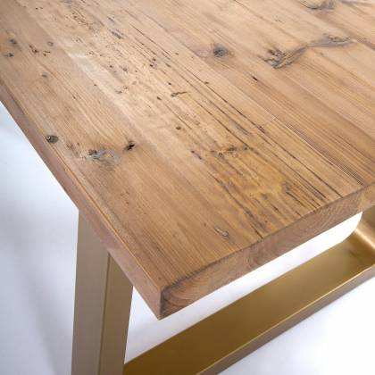 Glam dining table