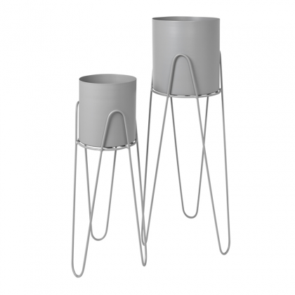Lisa Flower pots set grey