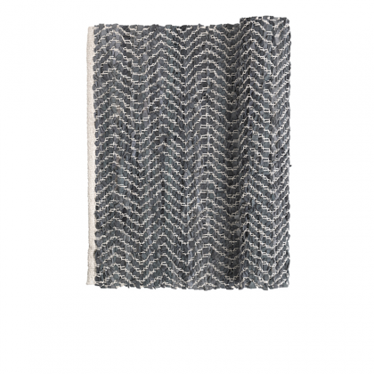 zigzag Rug dark gray