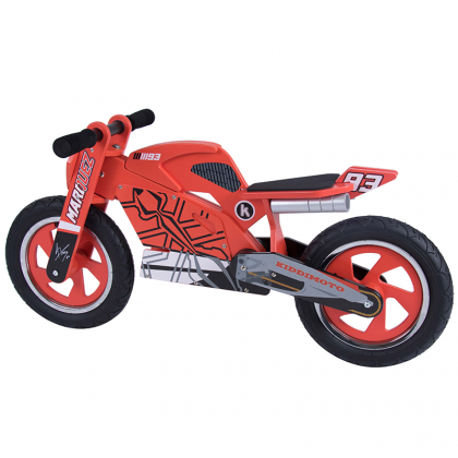Marc Marquez wooden bicycle
