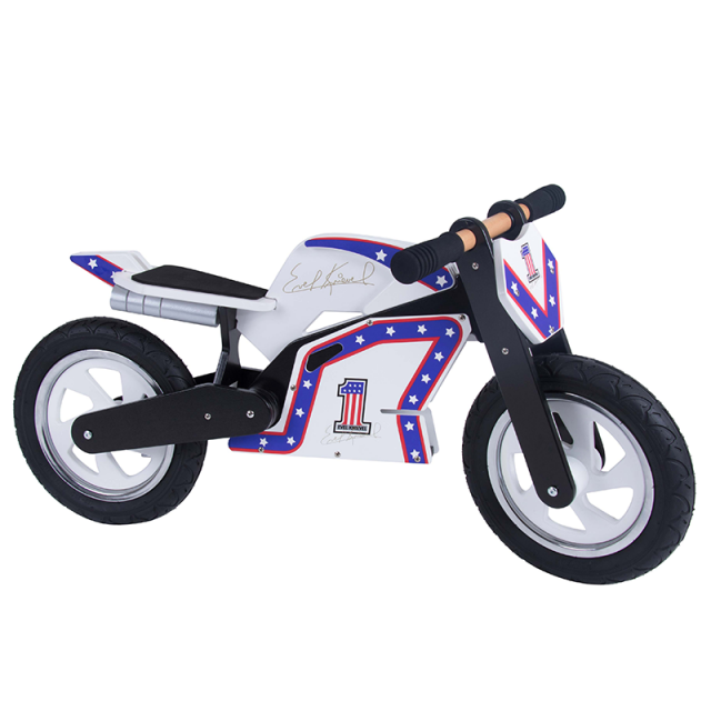 Evel Knievel wooden bicycle