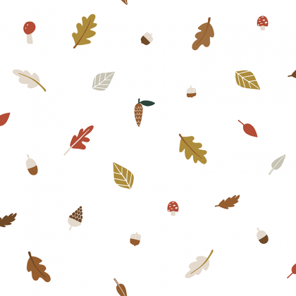 Papel pintado AUTUMN LEAVES