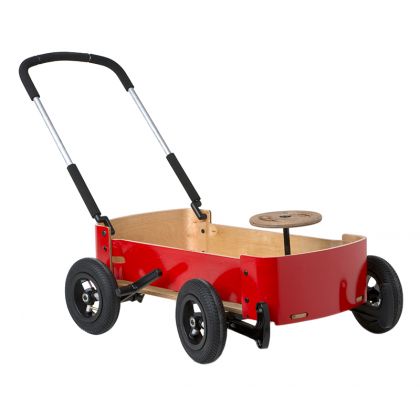 Children's wooden wagon