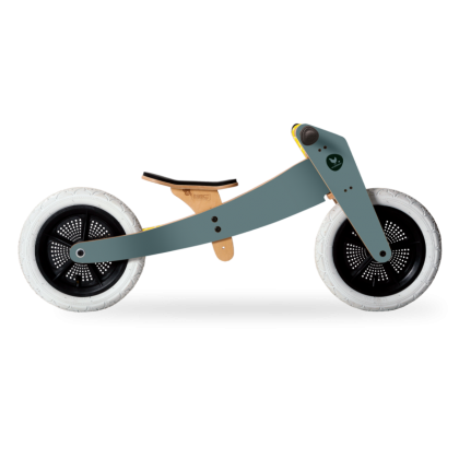 Wooden bike 2 in 1 Gray