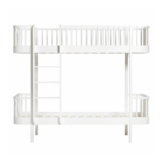 Couchette blanche frontal wood