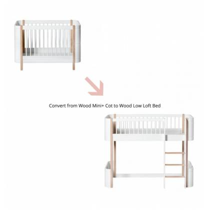 Wood mini conversion kit + Loft bed