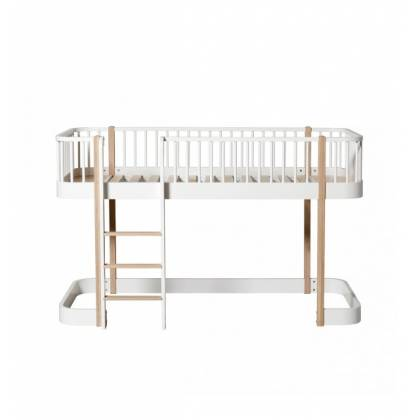 letto Low Loft wood