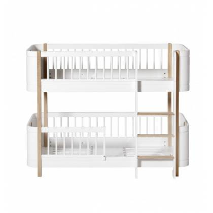 wood lit Low Bunk