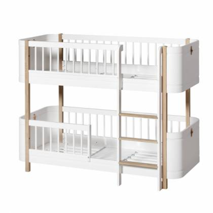wood Low Bunk bett