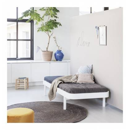 letto Lounger bianco