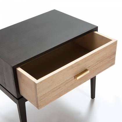 Black bilac Drawer