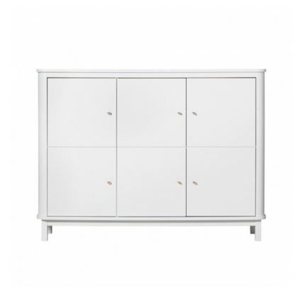 Buffet branco wood