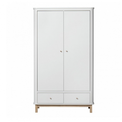 WOOD CABINET natural 2 doors