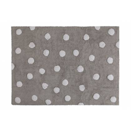Polka Dots Washable Rug