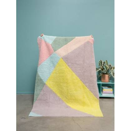 Tapis Happy Prism lavable