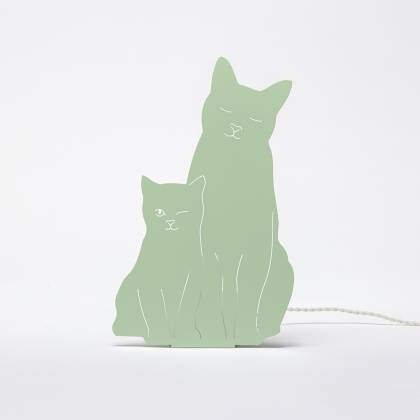 Kitties Lamp