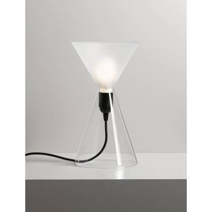 Jal Frosted Lampe