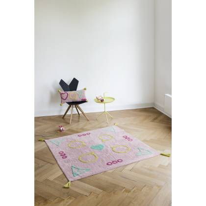 Influencer square rug