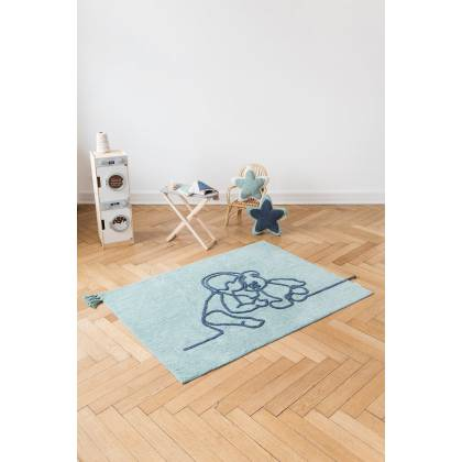 Boy rug with bear