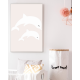 Stampa Dolphins White